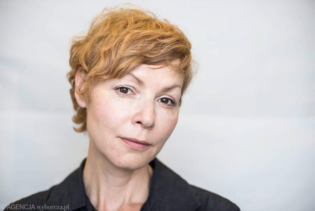 / Agnieszka Glińska. Fot. Kornelia Glowacka-Wolf / Agencja Gazeta