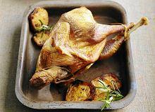Pieczony kurczak w sosie czosnkowym - ugotuj