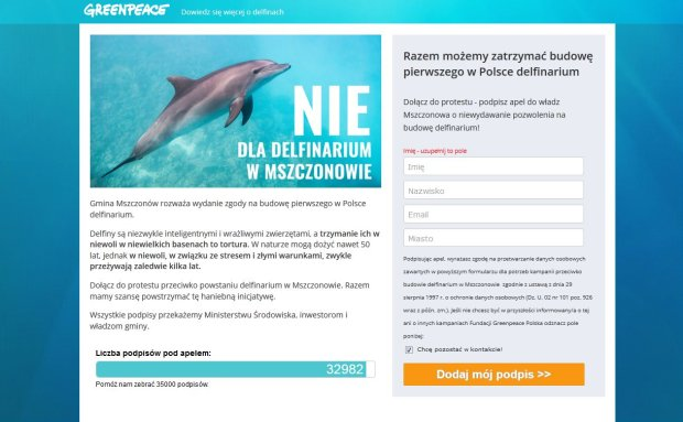 Petycja Greenpeace