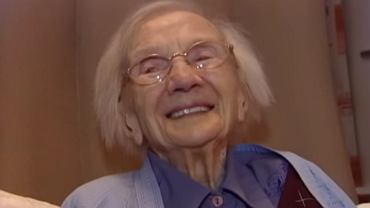 Jej teoria długowieczności jest bardzo oryginalna.