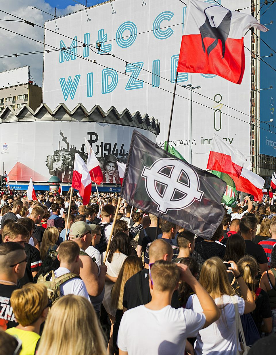 Marsz ONR, 1 sierpnia, Warszawa