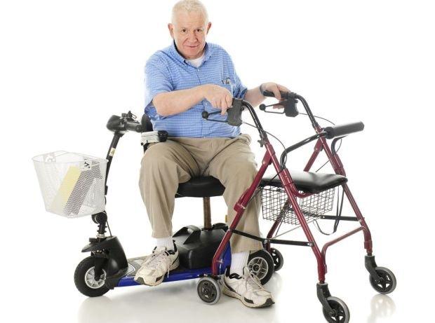 Opieka domowa i rehabilitacja os�b starszych - pomocny sprz�t