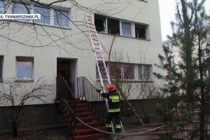 Makabryczna zbrodnia na Żoliborzu. Strażacy odnaleźli ciało kobiety