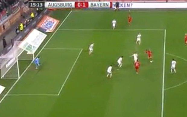 Robert Lewandowski strzela gola w 16. minucie