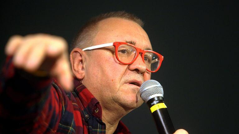 Jerzy Owsiak na spotkaniu w MPiK