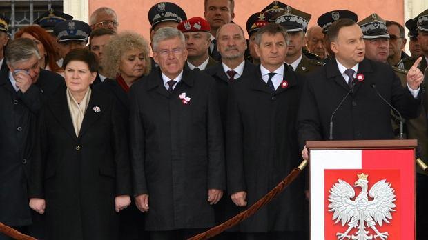 Przemówienie prezydenta Andrzeja Dudy podczas święta Konstytucji 3 Maja