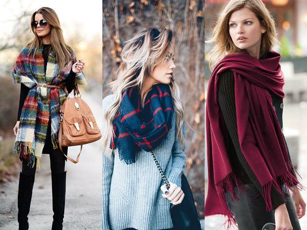 22b05c6df6 Jak modnie nosić szal jesienią - 3 sposoby na stylowy dodatek