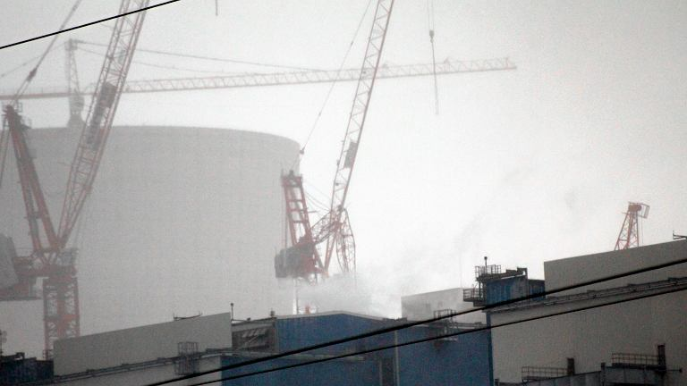 Wypadek na terenie budowy elektrowni w Opolu