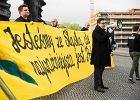 Narodowcy maszerują ulicami Katowic