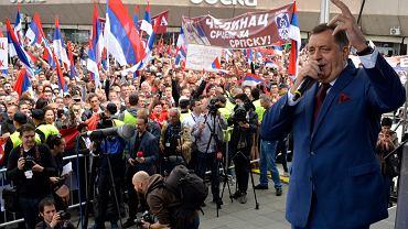 Prezydent wchodzącej w skład Bośni Republiki Serbskiej Milorad Dodik