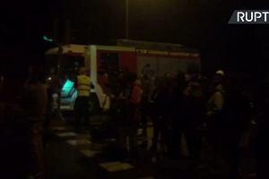 Uchodźcy próbowali uciec z ośrodka w Madrycie, gdy policja tłumiła zamieszki z udziałem kibiców Legii