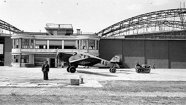 Tak wyglądało lotnisko na Okęciu, gdy w 1934 r. zobaczył je Holender Willem van de Poll