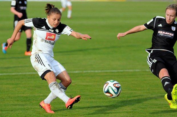 Medyk Konin - Glasgow City FC 2:0. Aleksandra Sikora