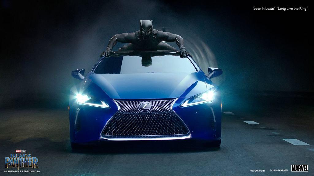 Lexus LS 500 F Sport Black Panther