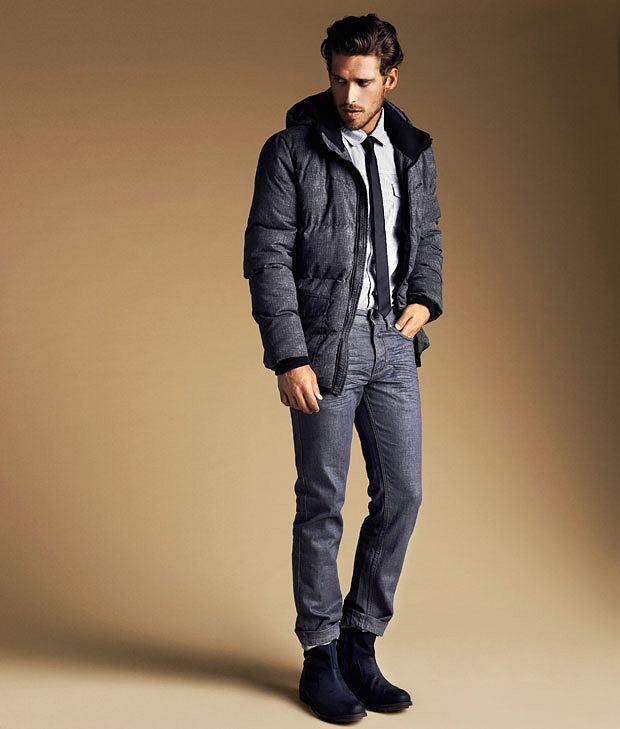 4360183c7dfba Modne puchowe kurtki, moda męska, kurtki, Kurtka z kolekcji Reserved. Cena: