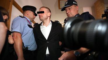 Na zdjęciu: Marcin P., były prezes Amber Gold podczas przesłuchania przed sejmową komisją śledczą.  Fot. Sławomir Kamiński / Agencja Gazeta