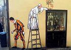Mural włoskiego artysty w Poznaniu jednak bez wizerunku papieża Franciszka. Gdzie będzie?