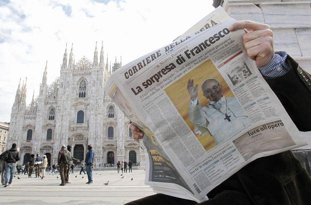 Franciszek we w�oskiej prasie. Wy�cig na rewelacje