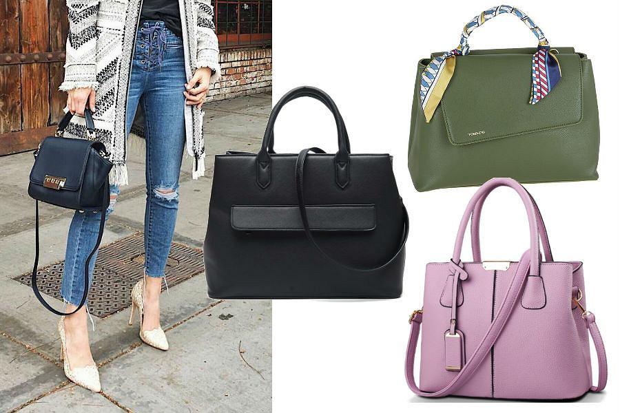 c99a2831c5bf1 Pojemne torebki do eleganckich stylizacji. Modele do 150 zł