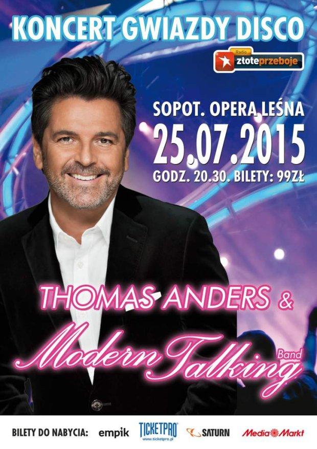 Thomas Anders już w lipcu na koncercie w Sopocie!, Italo Disco, Euro Disco, 80's, 90's, radio station, radio one live 80
