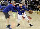 NBA. Curry kontuzjowany. Kolejny problem Golden State Warriors przed play-off