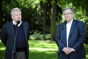 """Kwa�niewski: """"Komorowski jest moim kandydatem. Na pytania do Dudy odpowie Kaczy�ski"""""""