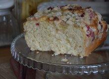 Ciasto dro�d�owe z rabarbarem - ugotuj