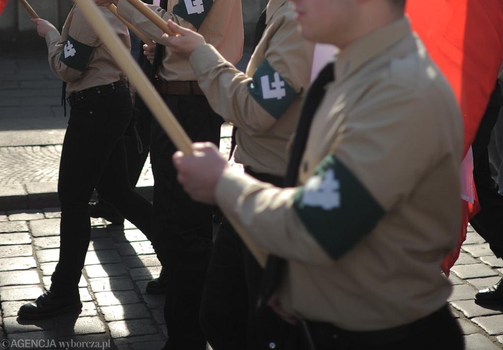Marsz ONR. Zdjęcie ilustracyjne