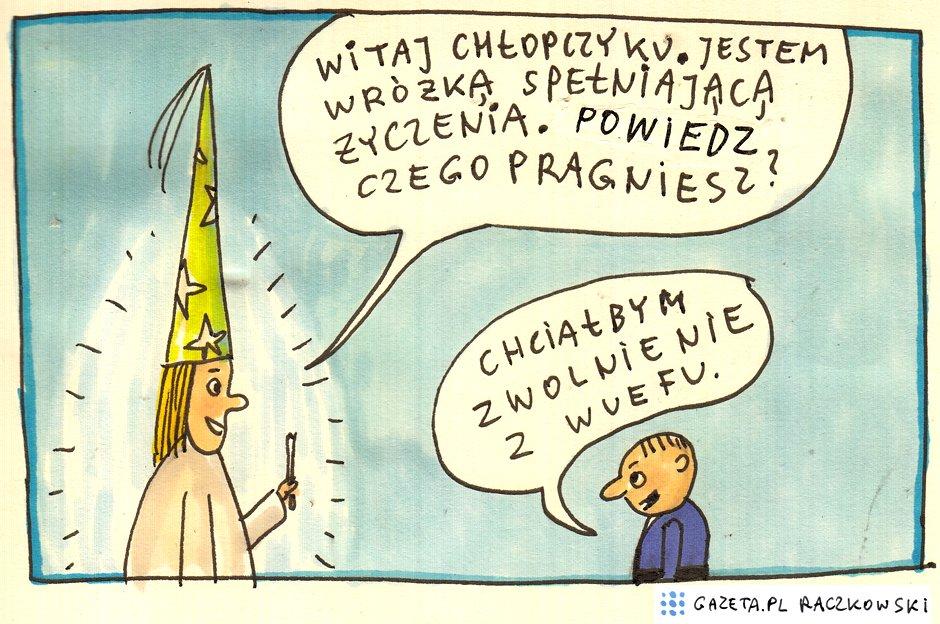 Marek Raczkowski dla Gazeta.pl - 1.10.2014 - rys. Marek Raczkowski