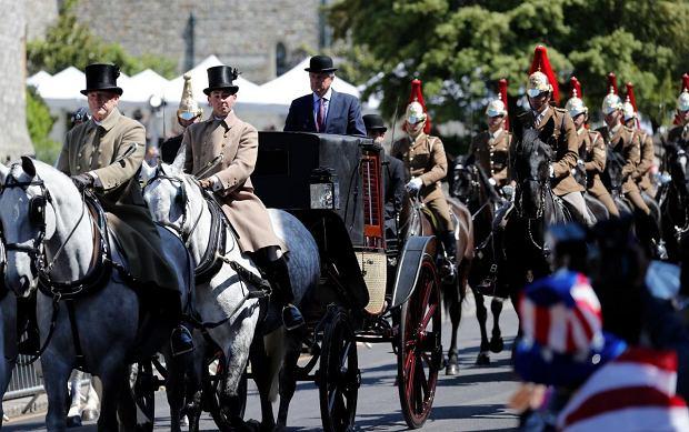 Zdjęcie numer 4 w galerii - Meghan Markle i książę Harry przybyli na generalną próbę przed ślubem. W ważnym dniu nie może dojść do wpadki