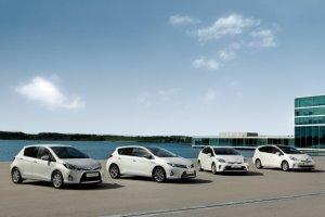 Sukces hybrydowych Toyot... w Europie