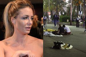 Ma�gorzata Rozenek, ulica w Nicei po zamachu terrorystycznym