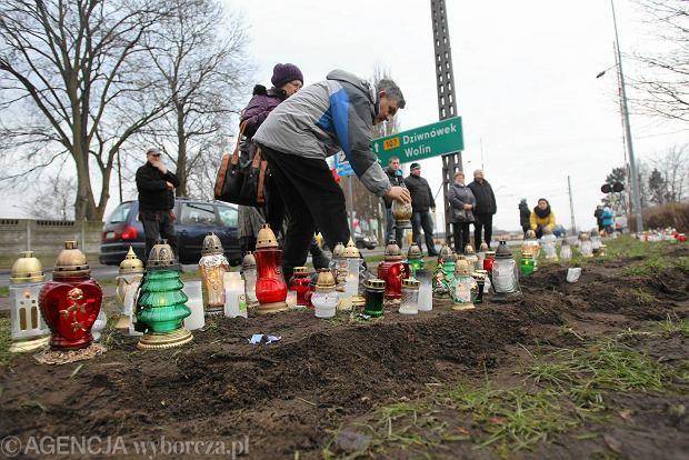 Chłopiec ranny w wypadku w Kamieniu Pomorskim opuścił szpital