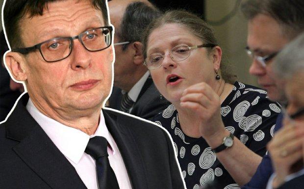 Marek Ast i Krystyna Pawłowicz.