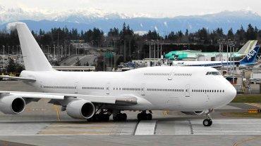 Takim samolotem b�dzie lata� przysz�y prezydent USA. Nowy Air Force One to Boeing 747-8