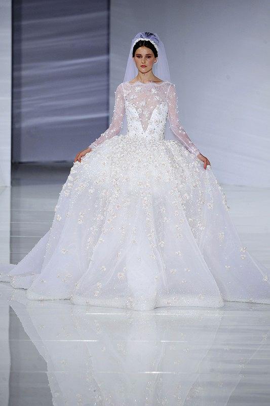 Suknie ślubne Z Pokazów Haute Couture Nieprzyzwoicie Drogie Ale