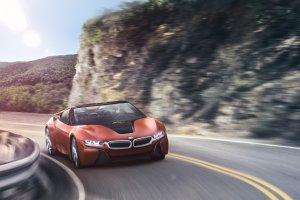 BMW i8 | Dwa koncepty | Bez dachu i bez lusterek