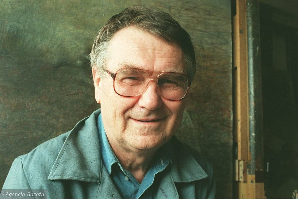 Zdzisław Beksiński, 1996 r.