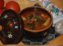 Węgierski gulasz - gulyasleves - ugotuj