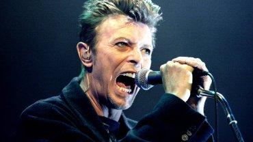 David Bowie w 1996 roku