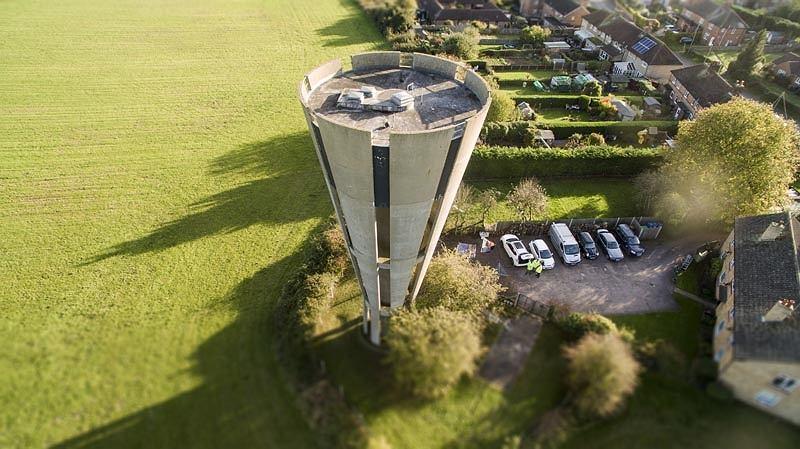 Budynek wieży ciśnień Tonwell