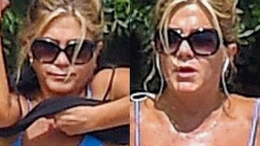 Jennifer Aniston opala się