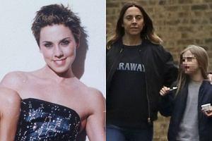 Mel C ze Spice Girls na spacerze z córką. Skóra zdjęta! Nie wierzycie? Scarlett wygląda zupełnie jak mama