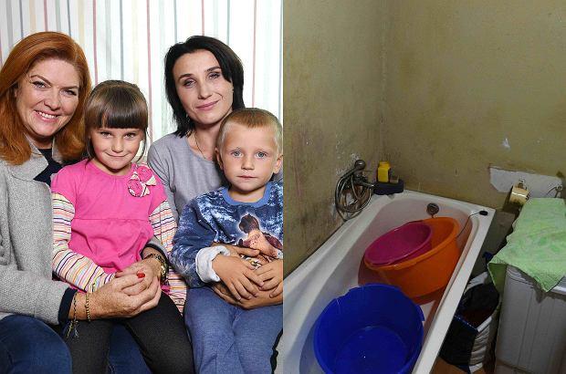 Kasia, ofiara przemocy domowej, mieszkała w zimnym domku z przegniłymi podłogami. Do dyspozycji dzieci była prymitywna łazienka. Katarzyna Dowbor i jej ekipa dokonały wspaniałej metamorfozy domu. Teraz jest jak ze snu.