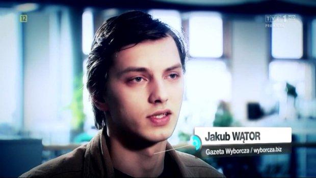 Jakub Wątor w programie
