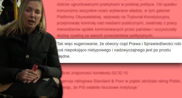 Reporterka BBC i o�wiadczenie MSZ