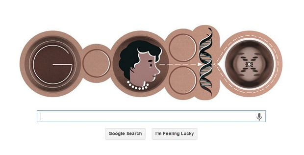 Google �wi�tuje urodziny Rosalind Franklin, wsp�odkrywczyni struktury DNA