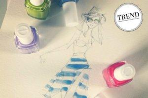 Najmodniejsze odcienie lakier�w do paznokci na lato - w dro�szej i ta�szej wersji. Niekt�re kolory was zaskocz�!