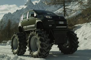 Fiat Panda Big Foot | Wideo