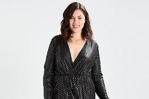 699d18e119 Czarne sukienki na karnawałowe imprezy  plus size